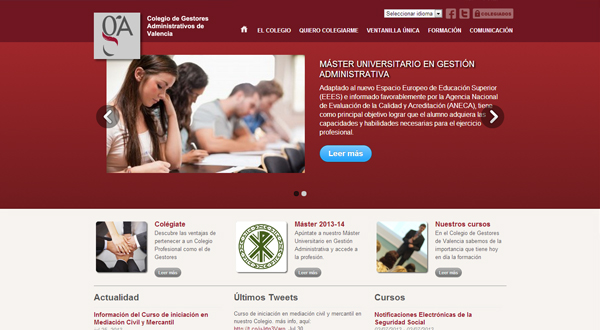 Imagen 1: Colegio de Gestores